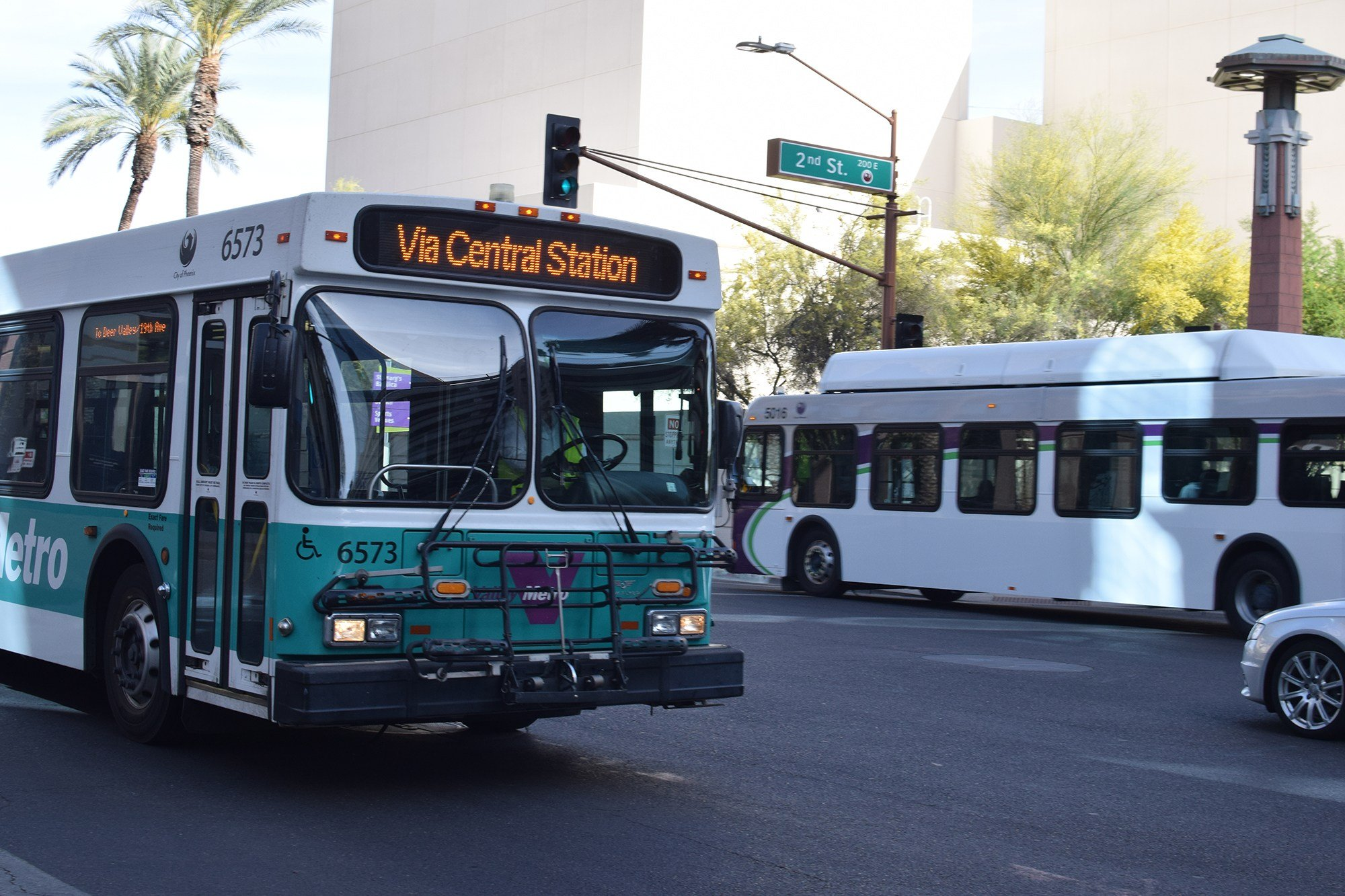 Public transit officials said Transportation Department budget cuts outlined by the Trump administration could have a severe economic impact. (Source: Arren Kimbel-Sannit/Cronkite News)