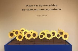 The Frida Kahlo and Diego Rivera exhibition is at the Heard Museum, the only North American stop on its tour. (Source: Ryan Santistevan/Cronkite News)