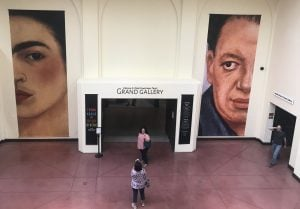 Visitors have come from around the world to visit the Frida Kahlo and Diego Rivera exhibit at the Heard Museum. (Source: Ryan Santistevan/Cronkite News)