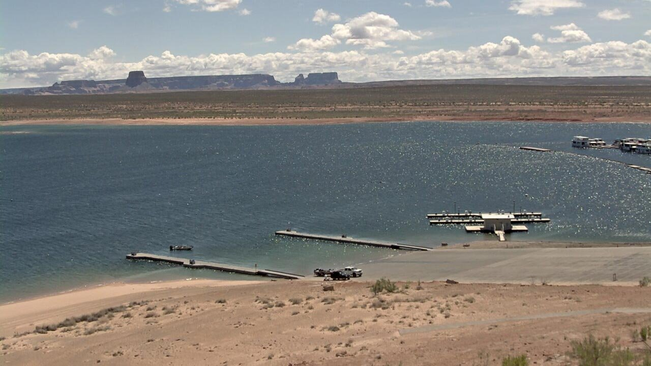 Wahweap Main Launch Ramp at Lake Powell (Source: National Park Service)