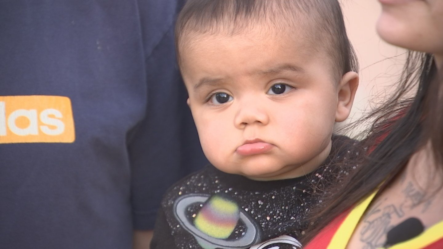 Diego Jr. was born two months after his father was killed