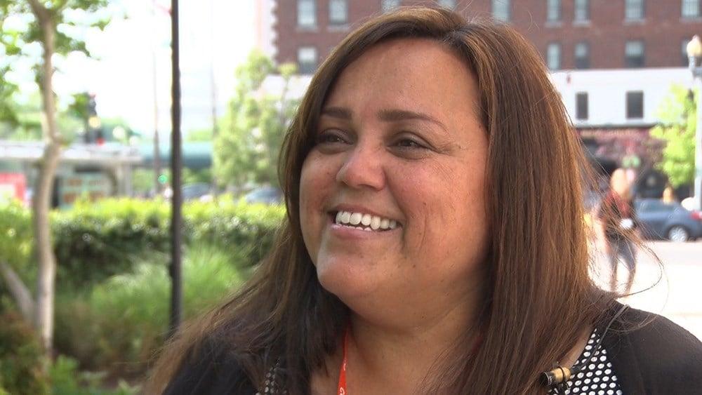 Encanto Elementary School teacher Michelle Doherty, the Arizona 2017 teacher of the year. (Photo by Marisela Ramirez/Cronkite News)