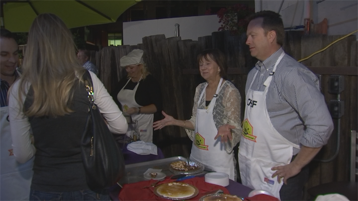 The more than two dozen chefs were judged by professional chefs. (Source: 3TV/CBS 5)
