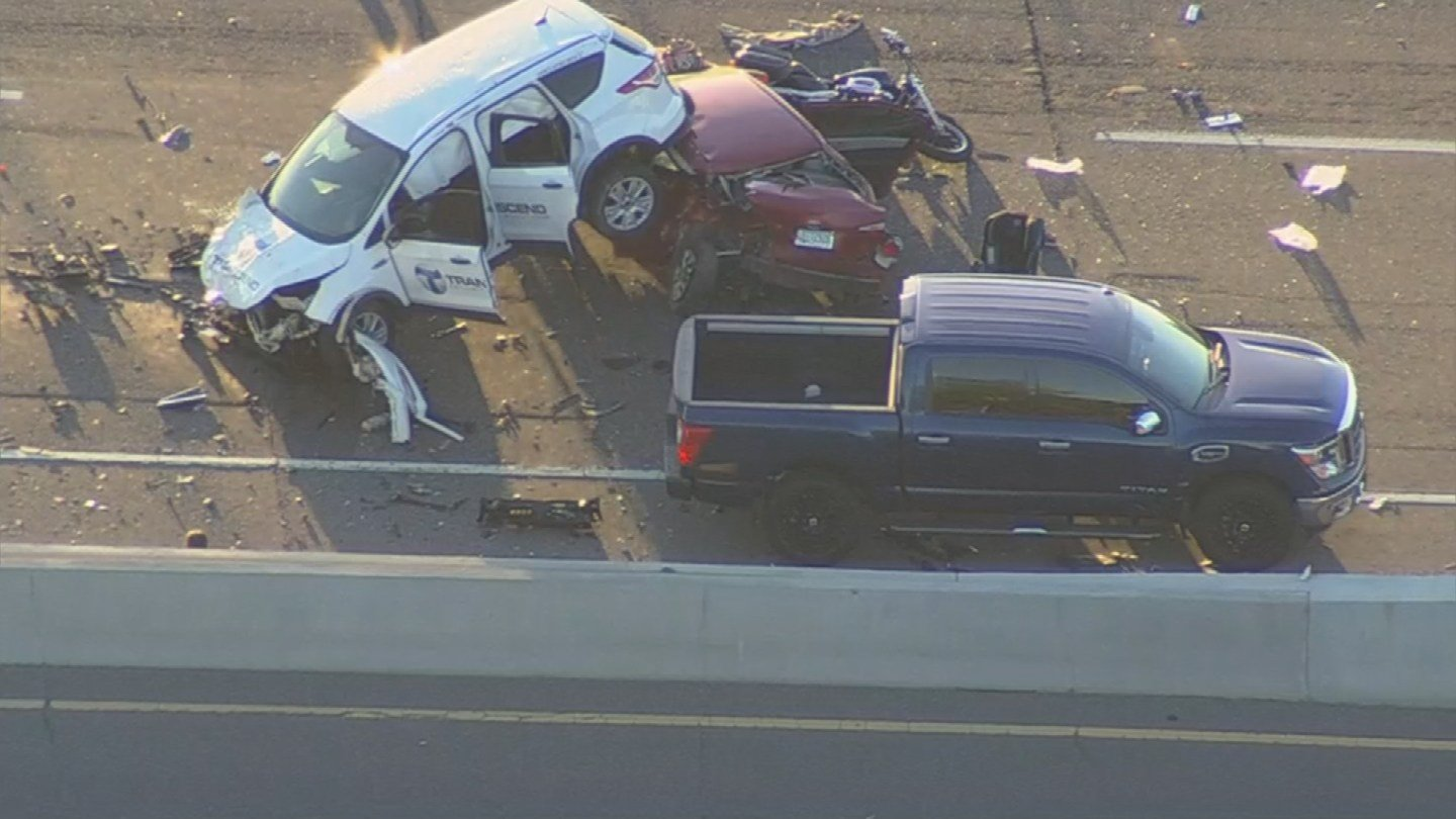 DPS says at least two people are dead following the crash on SB I-17 (Source: 3TV/CBS 5)