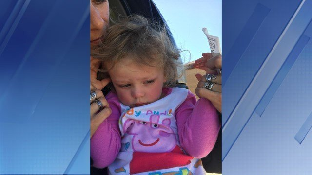 PCSO says a citizen found a 2-3 year old little girl in San Tan Valley (SOURCE: 3TV/CBS5)