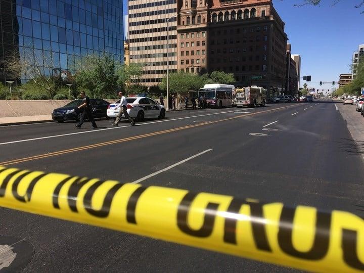 A stabbing happened at Central and Van Buren (SOURCE: 3TV/CBS5)