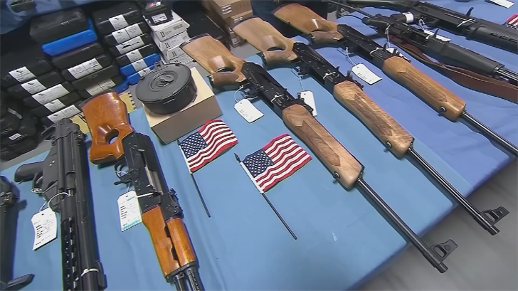 "The bill would ban municipalities from closing the so-called ""gun show loophole."" (Source: 3TV/CBS 5)"