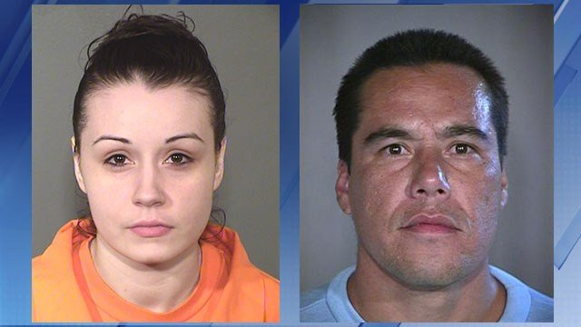 Elise Garcia and Alan Champagne (Sources: Arizona Dept. of Corrections and 3TV/CBS 5 file photo)