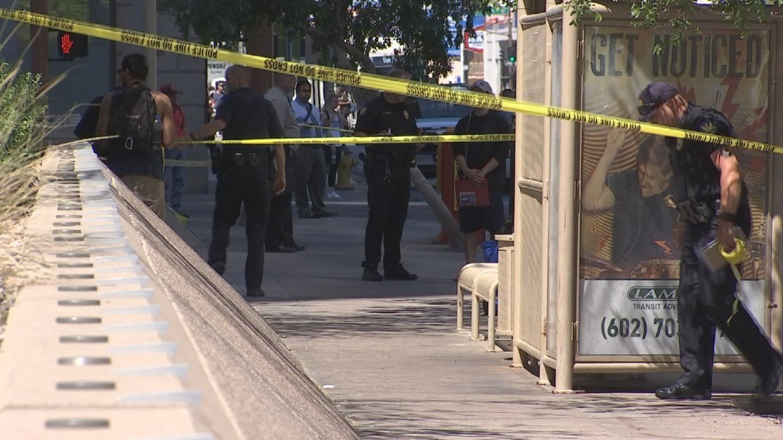 A photo of the scene (Source: 3TV/CBS 5)