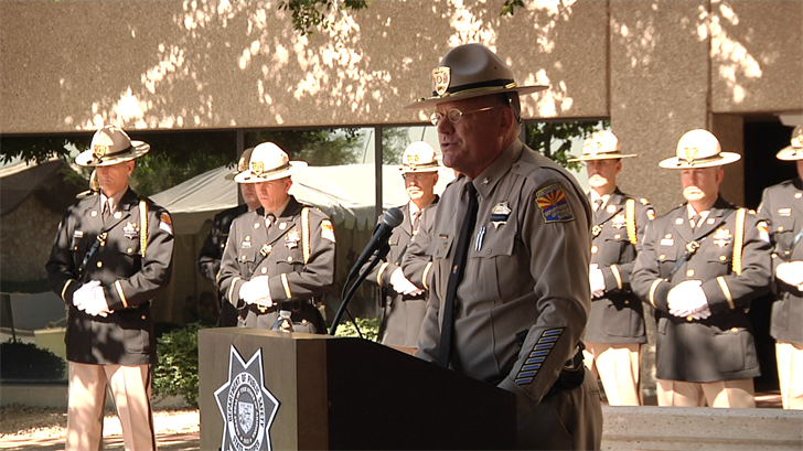 Sgt. Jimmy Chavez talks about the sacrifices DPS troopers make every day. (Source: 3TV/CBS 5)