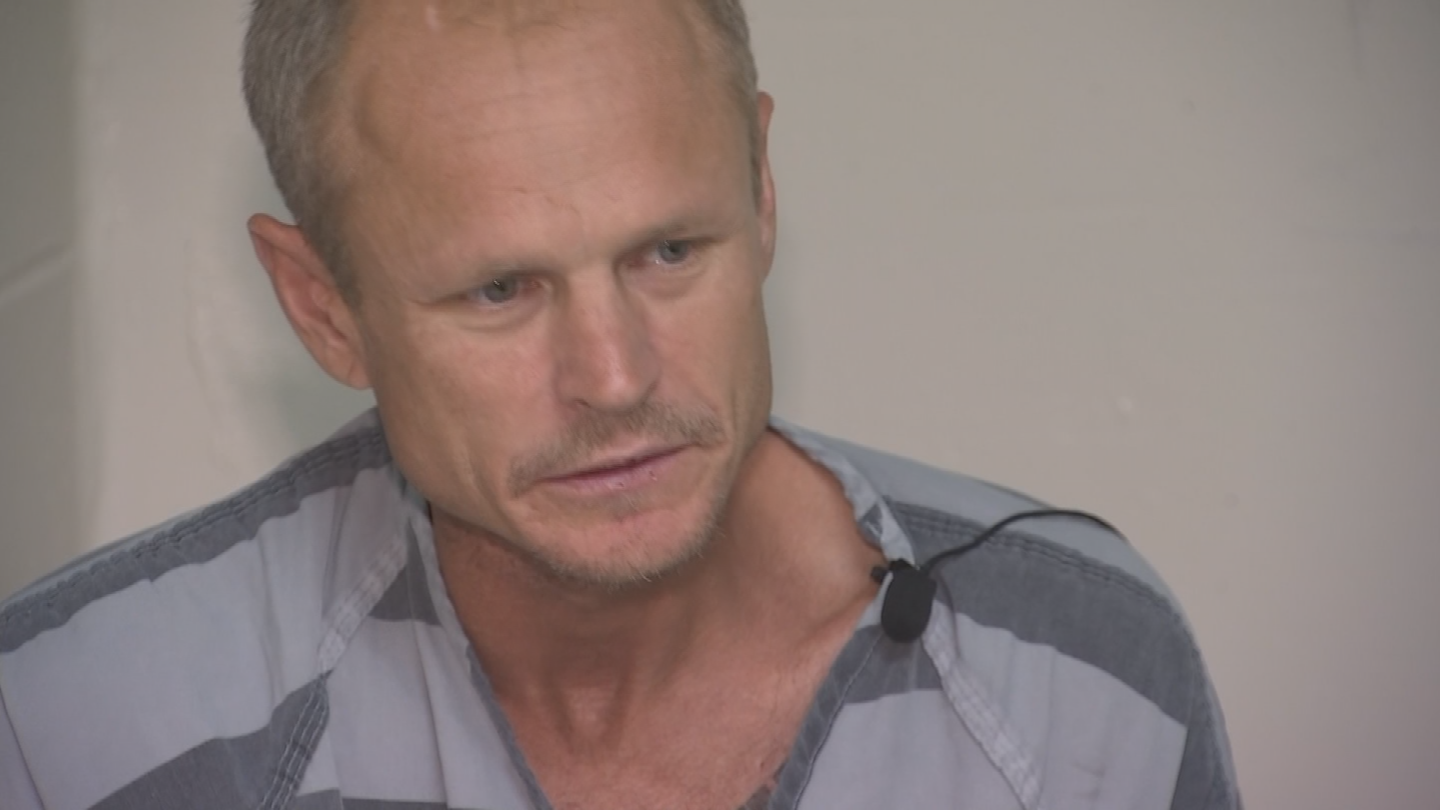 Kenneth Novotny spoke about the allegations against him from the 4th Avenue Jail. (Source: 3TV/CBS 5)
