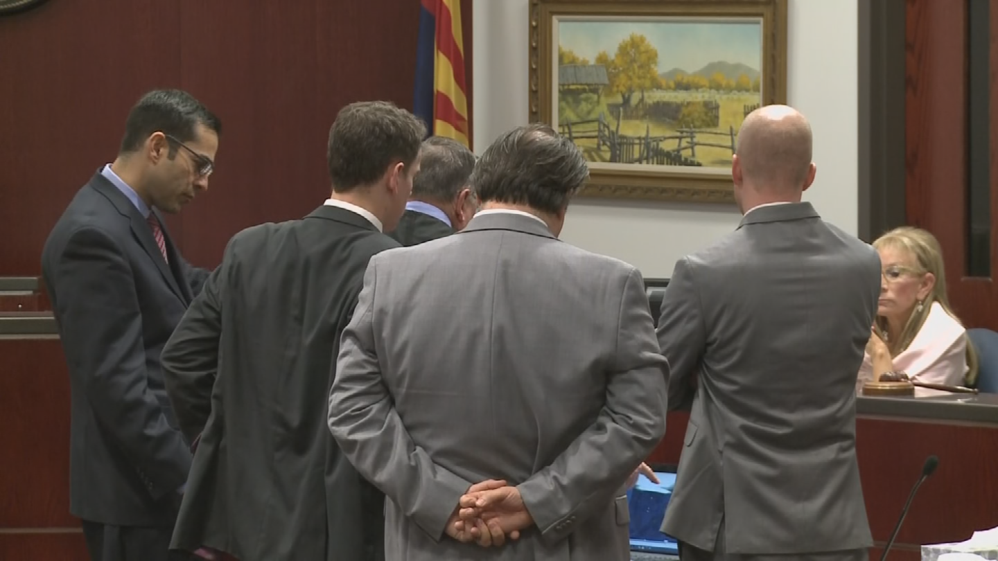 Prosecutors have a few months to decided what they want to do with the NAU shooting case. (Source: Pool)