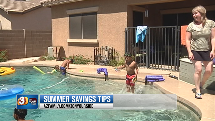 Summer can be a big budget buster. (Source: 3TV/CBS 5)