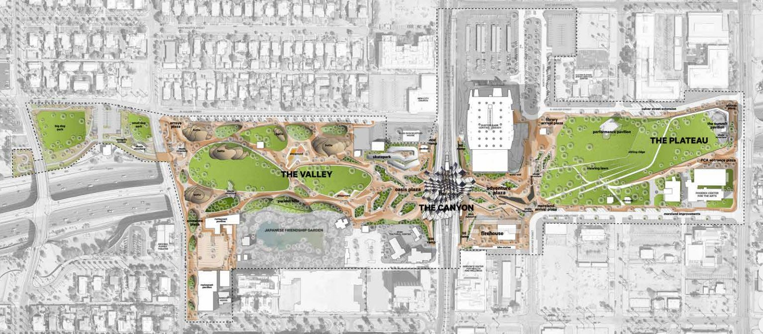 The City of Phoenix wants to make $135 millions in upgrades for the downtown Phoenix park. (Source: 3TV/CBS 5)