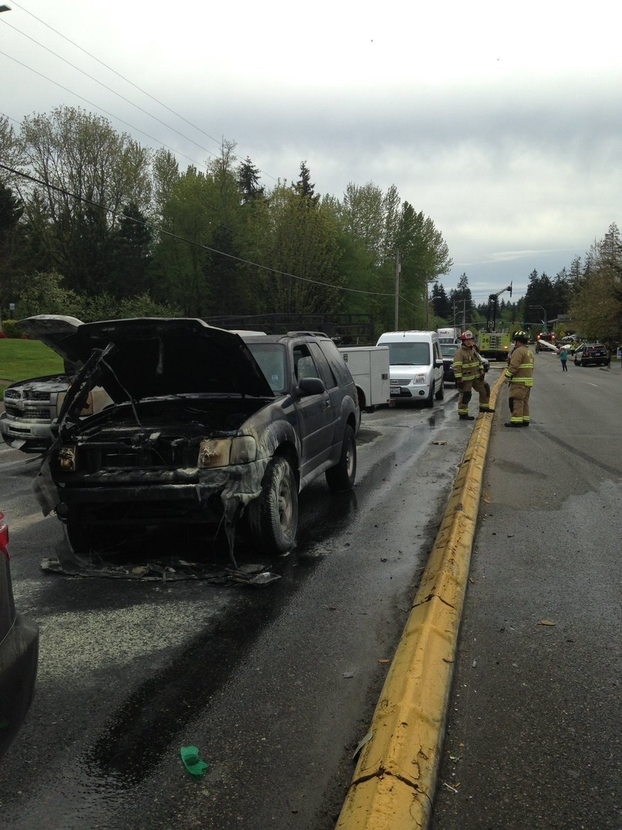 The aftermath of a plane crash in Washington. (Source: Lynwood, WA Fire Dept.)