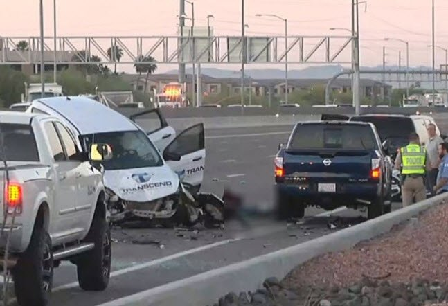 DPS says the driver in a deadly crash on the I-17 won't be charged, only cited. (Source: 3TV/CBS 5)