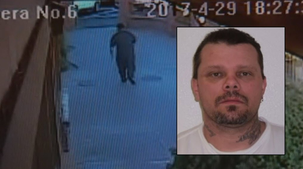 Randy Layton made his escape from the Red Wok Buffet near 34th Street and Thomas Road. (Source: 3TV/CBS 5)