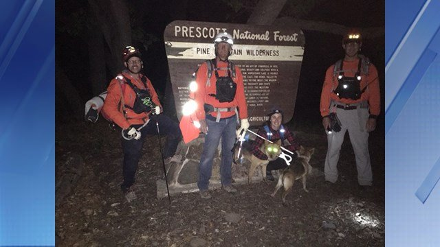 YCSO volunteers made three rescues in one day during the weekend. (Source: YCSO)