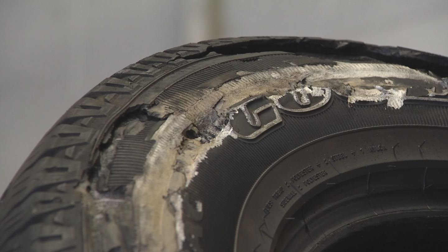 Experts said cracking and bubbles are cause for concern. (Source: 3TV/CBS 5)