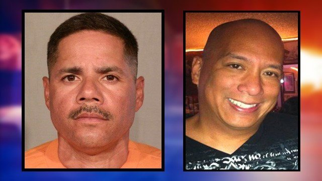 Pictured on the left is John Albert Campos Sr. The victim, on the right, was 52-year-old Frank Pascua. (SOURCE: 3TV/CBS 5)