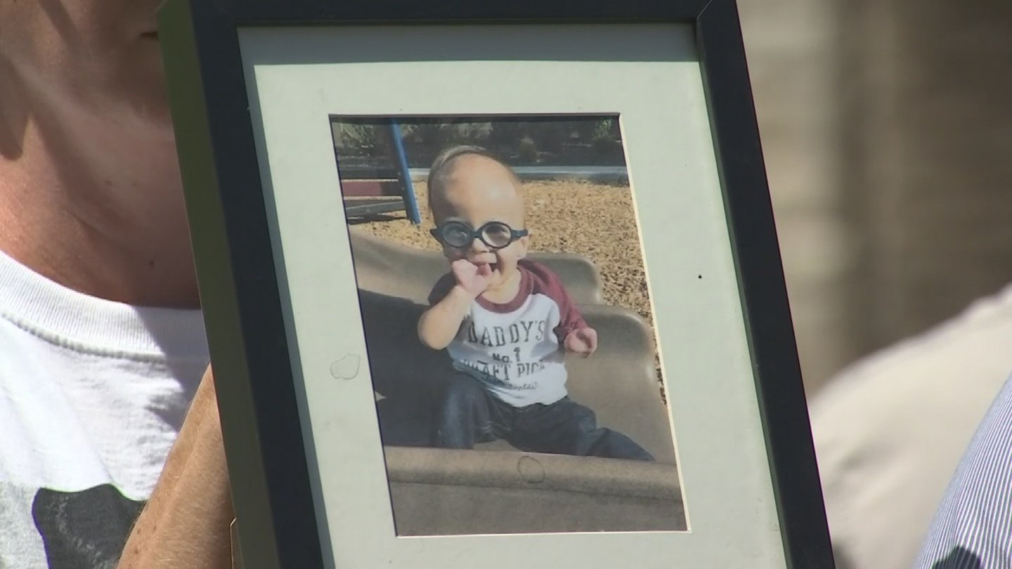 Anthony was born with a congenital heart condition called Transposition of the Great Arteries. That diagnosis came before Anthony was 2 days old. (Source: 3TV/CBS 5)