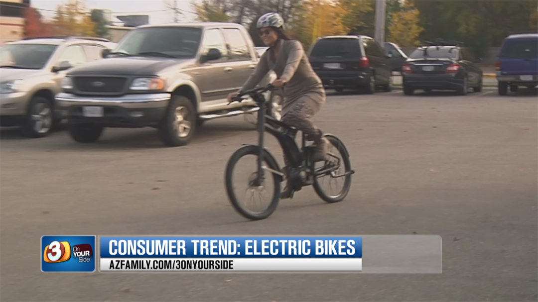 The electricity around eBikes is surging, with an estimated $32 million in sales in 2016. (Source: 3TV/CBS 5)