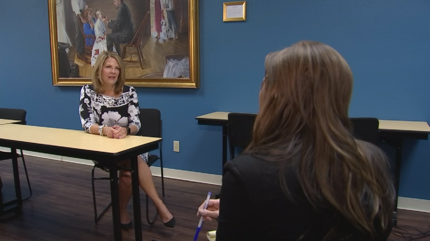 U.S. Senate candidateKelli Ward insists people in Cockrell's position should not be especially concerned about high premiums if they are otherwise healthy. (Source: 3TV/CBS 5)
