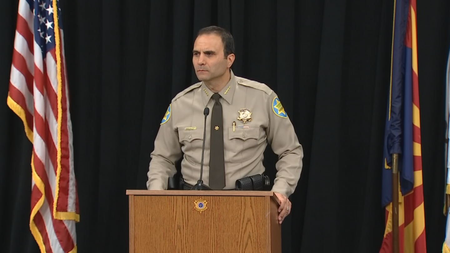 Maricopa County Sheriff Paul Penzone blasted a proposal to strip away $1.6 million away from his office. (Source: 3TV/CBS 5)