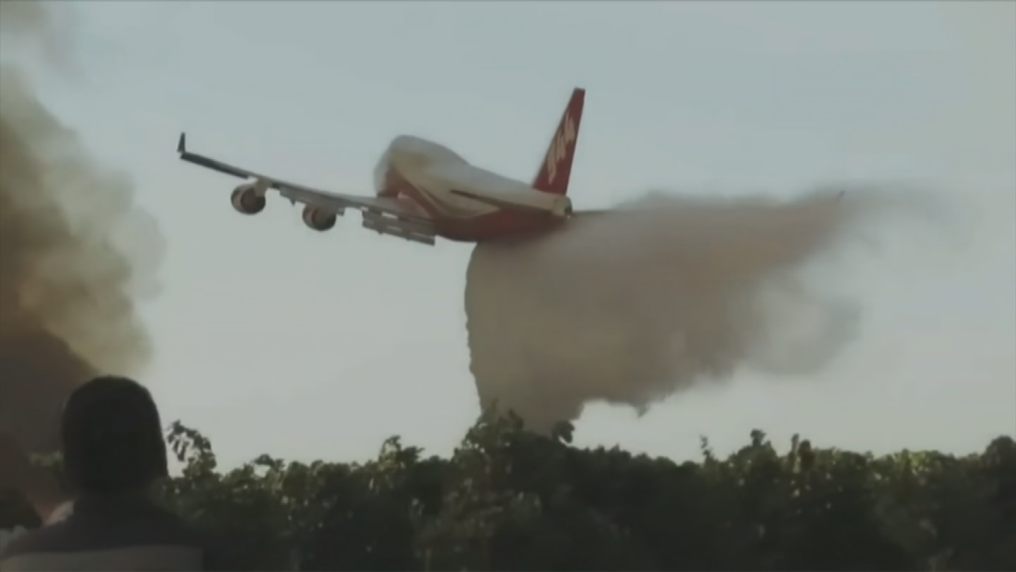 The supertanker can carry upwards of 19,500 gallons of liquids. (Source: 3TV/CBS 5)