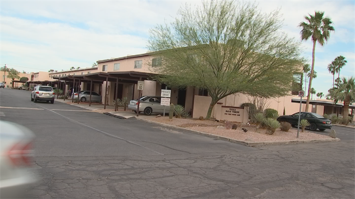 Shooter claims an apartment in Yuma is his primary residence even though his wife has a house in the Valley. (Source: 3TV/CBS 5)