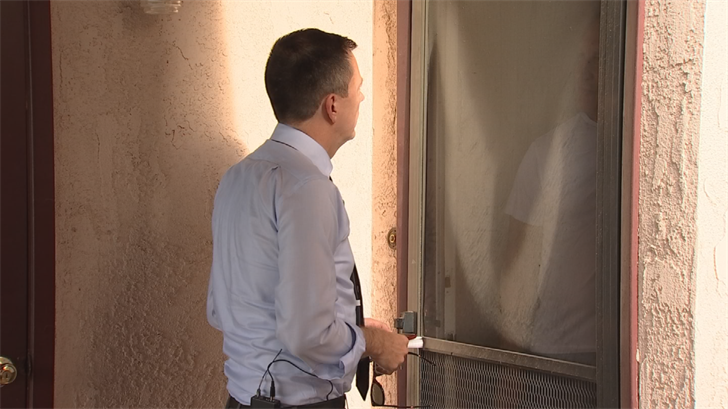 Neighbors in Yuma said they didn't know Shooter that well. (Source: 3TV/CBS 5)