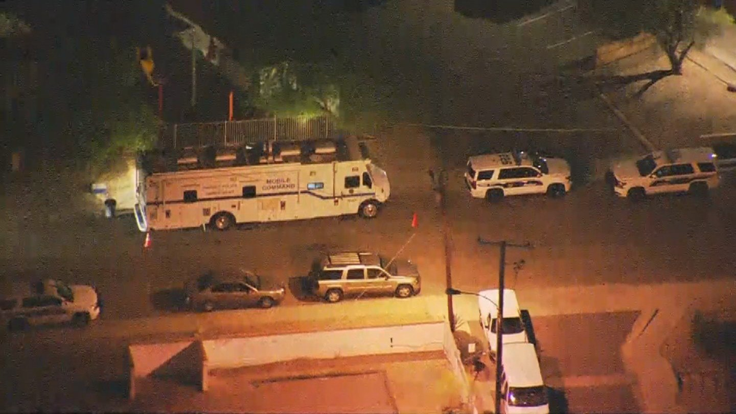 Police were investigating the death of a woman who was found wounded at a home in Phoenix. (Source: 3TV/CBS 5)