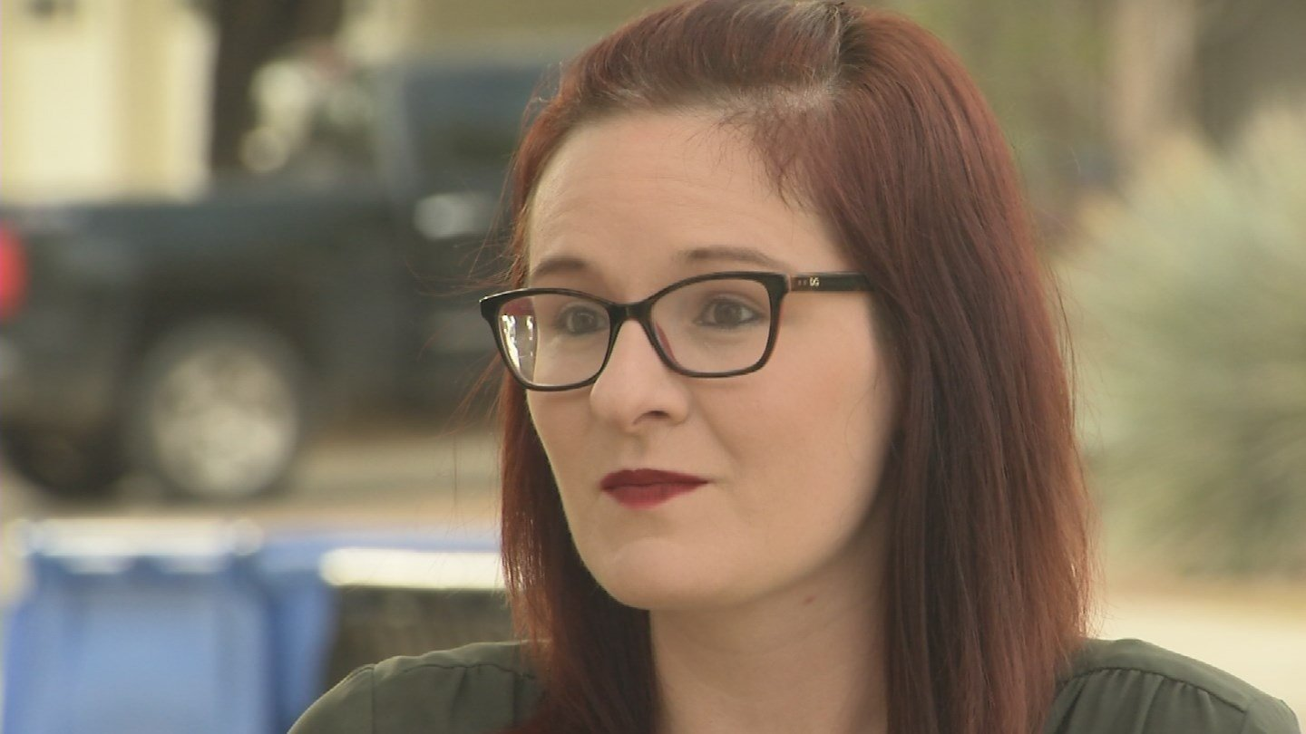 "Shannon Schell of the Arizona Coalition to End Sexual and Domestic Violence said the organization is ""extremely concerned"" about the new American Health Care Act. (Source: 3TV/CBS 5)"