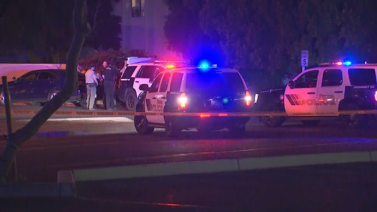 Officers searching for suspect who shot a man in Peoria (Source: 3TV/CBS 5)