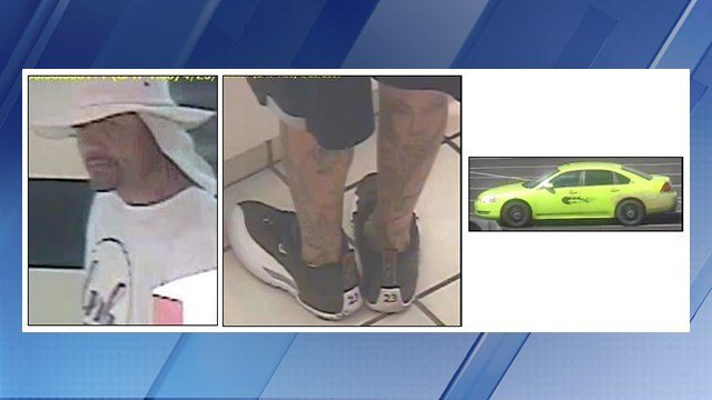 Police were searching for a man who allegedly stole jewelry from a JC Penney in Phoenix. (Source: Silent Witness)