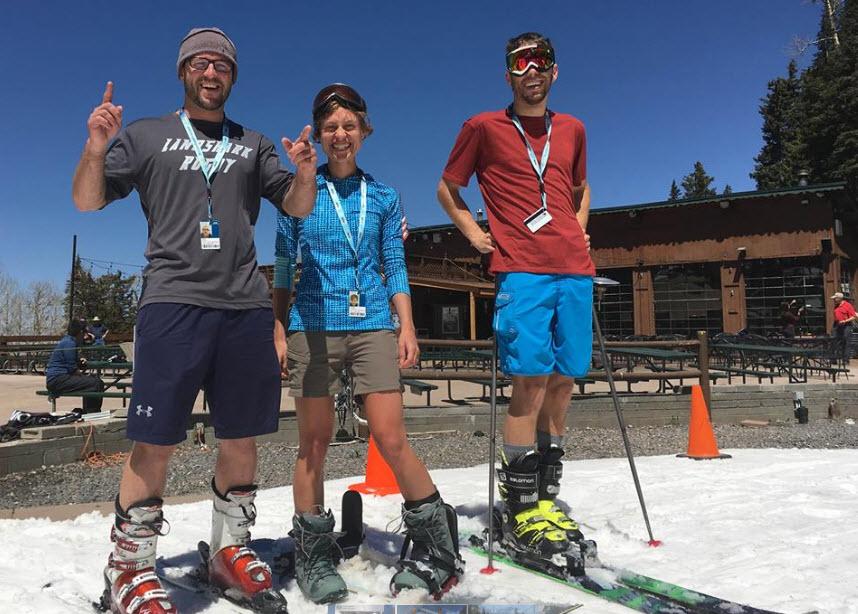 Spring skiing fun! (Source: AZ Snowbowl)