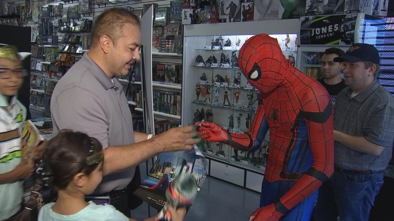 Free comic book day at Geek City May 6
