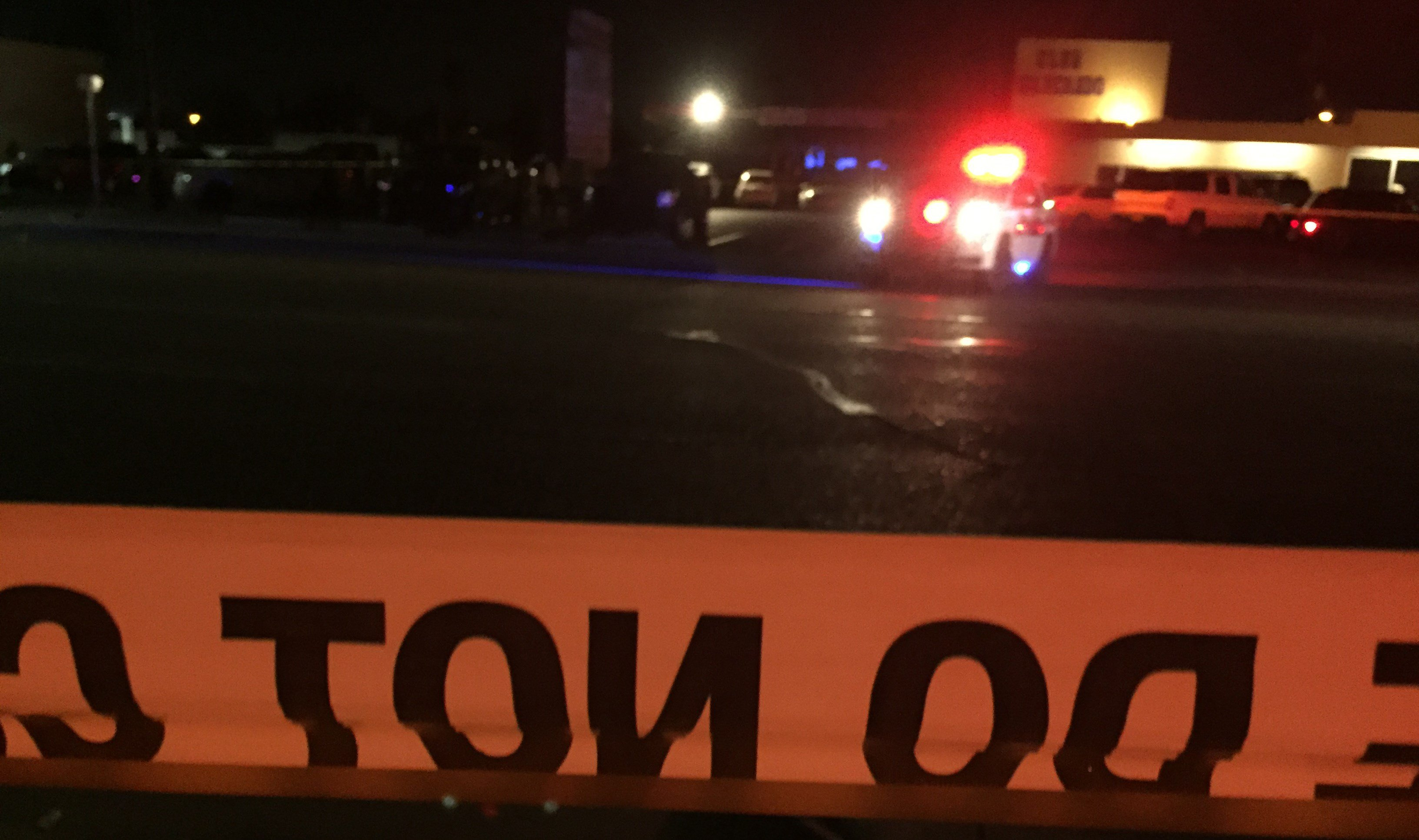 A pedestrian was in critical condition after he was struck by a vehicle in Phoenix. (Source: 3TV/CBS 5)
