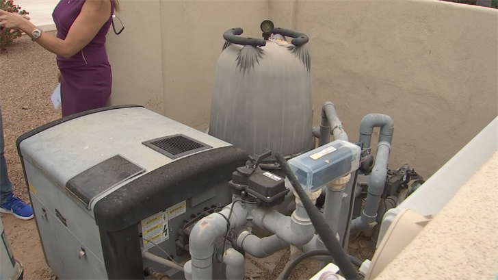 Getting a new pool pump is an investment but will save pool owners money in the long run. (Source: 3TV/CBS 5)