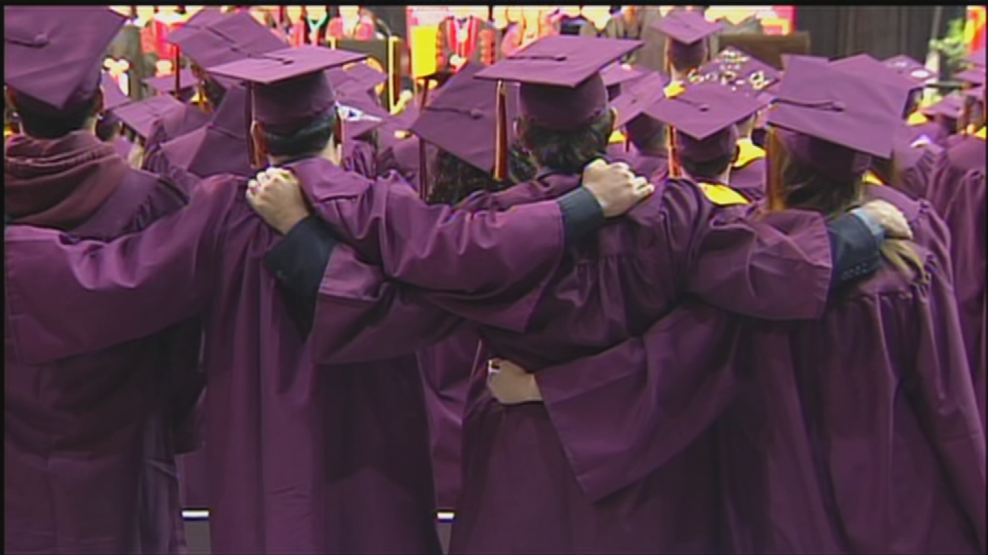 The Arizona State University spring commencement took place Monday. (Source: 3TV/CBS 5)
