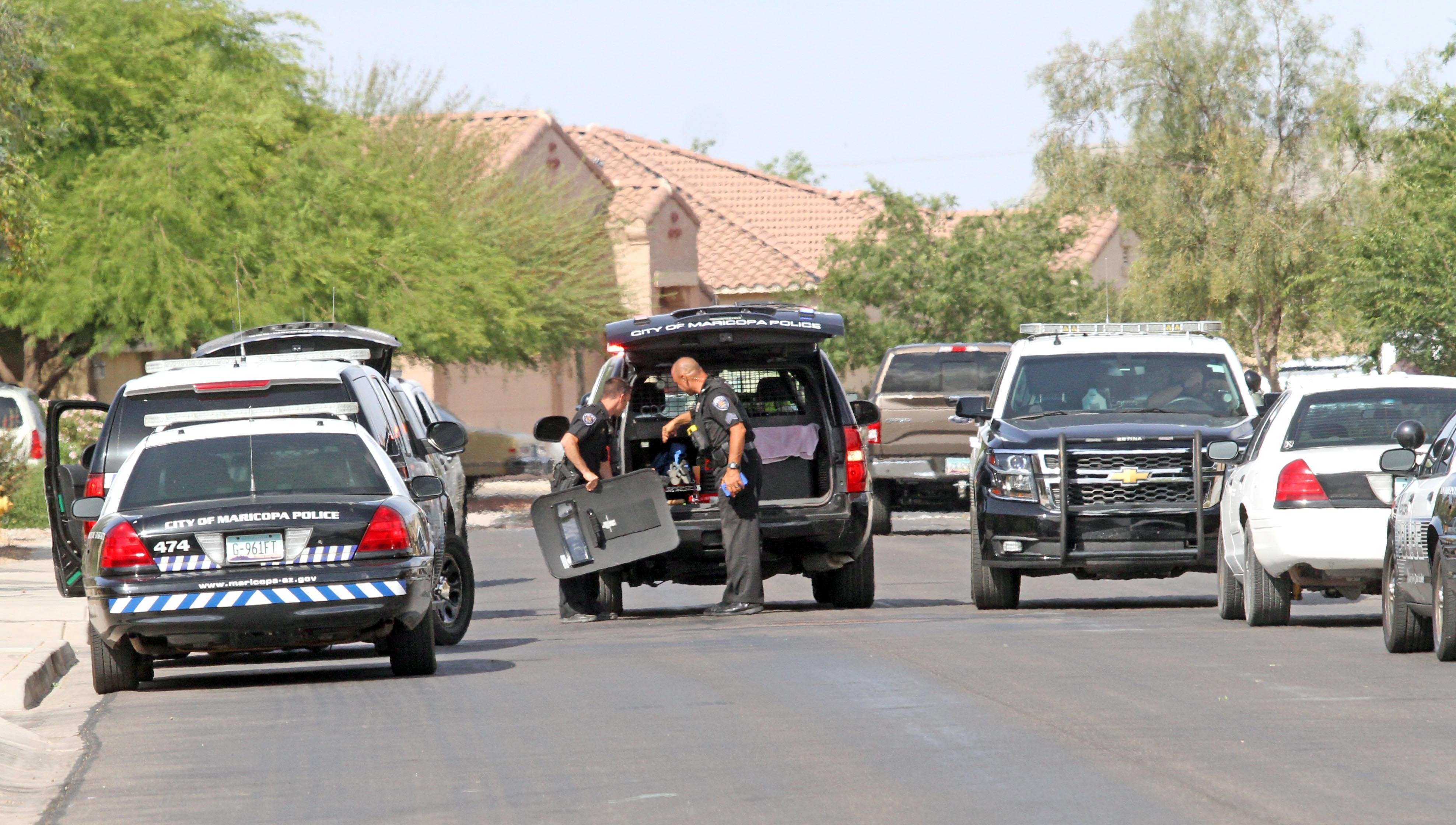 A couple was found dead of an apparent murder-suicide in Maricopa. (Source: Photos by Howard WaGGner/News of Maricopa)