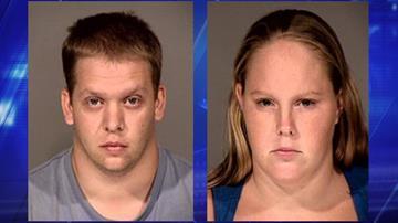 John Michael Allen, left, and Sammantha Lucile Rebecca Allen in 2011 booking photos. (Source: 3TV/CBS 5 file photos)