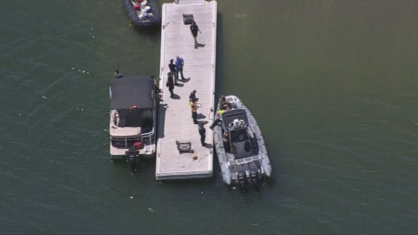 A man is in critical condition after nearly drowning at Lake Pleasant Monday. (8 May 2017)