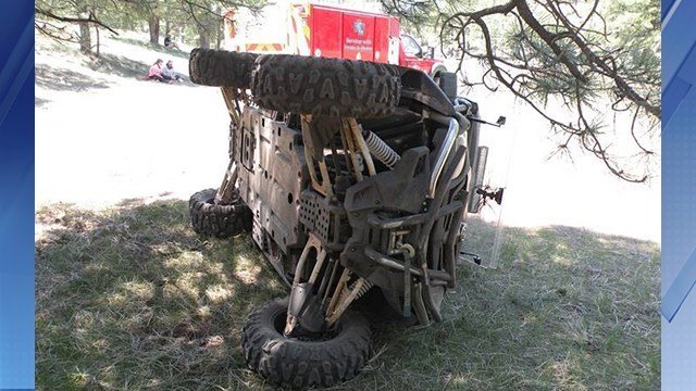 A 55-year-old man was killed in an ATV accident near Heber. (Source: 3TV/CBS 5)