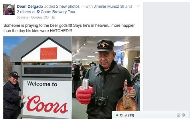 Constable Jimmie Munoz reportedly said he was suffering from a series of illnesses. According to ethics board, photos of Munoz at Colorado brewery were posted online during time he was ill.