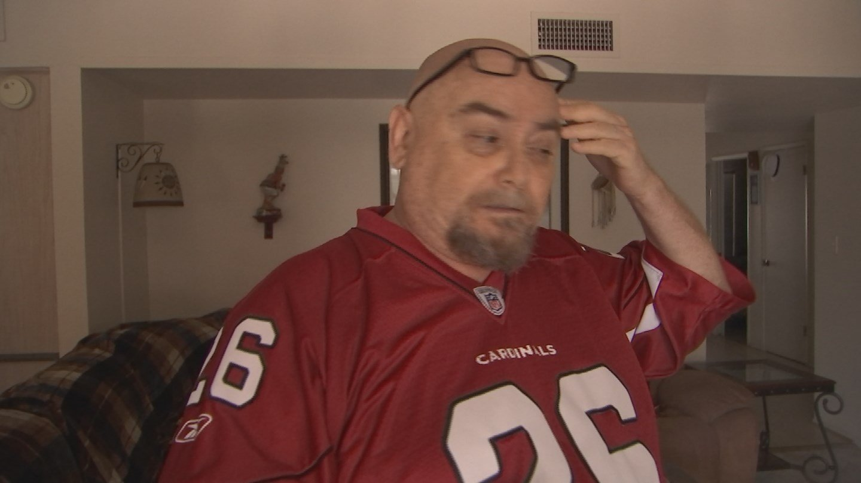 Adam Rocha said he caught two men stealing guns in his home. (Source: 3TV/CBS 5)