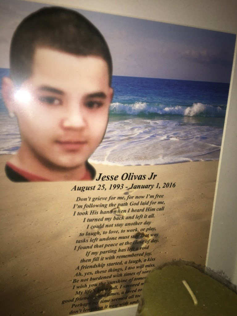 Jesse Olivas, 22, was gunned down near his Maryvale home in January of last year. (Source: 3TV/CBS 5)