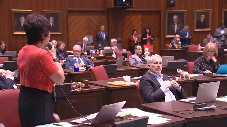Lawmakers are racing toward the end of this year's session. (Source: 3TV/CBS 5)