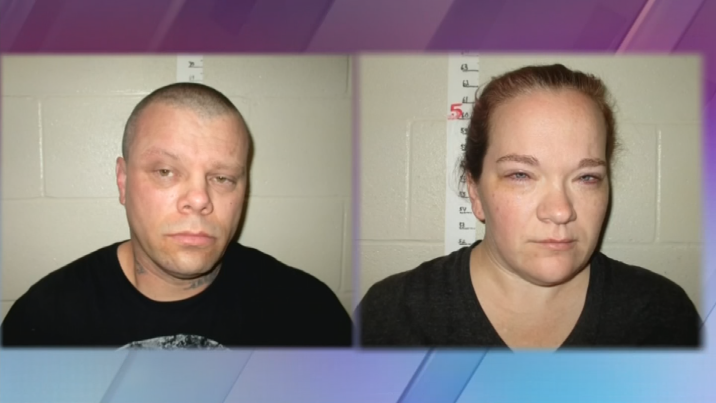 Amber Wilson, right, and Randy Layton, left, were apprehended in North Dakota last Friday after being on the run for nearly a week. (Source: 3TV/CBS 5)
