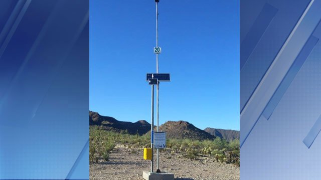 Rescue beacon (Source: Customs and Border Protection)